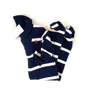 Ralph Lauren Baby Boy Striped Outfit
